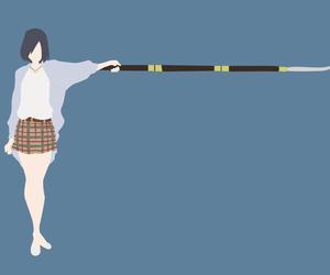 anime, cute girl, and kyoukai no kanata image