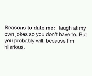 funny, hilarious, and date image