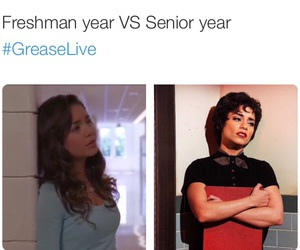 funny, grease, and high school image