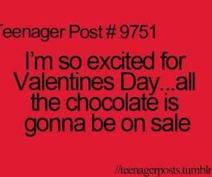 chocolate, sale, and valentines day image