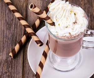 chocolate, love, and comida image