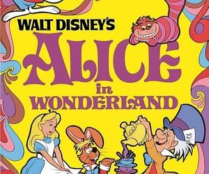 alice in wonderland, alice, and disney image
