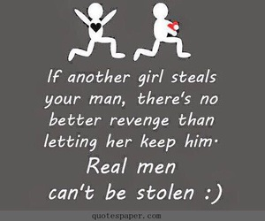 quote, steal, and revenge image