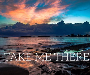 quote, wallpaper, and take me there image