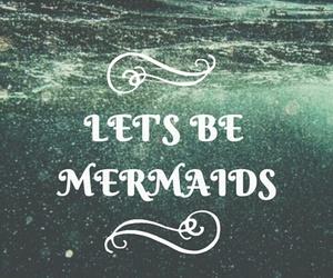 mermaid, wallpaper, and ocean image