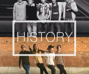 history, one direction, and niall horan image