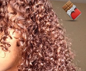 curls, curly, and natural hair image
