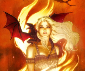 game of thrones, got, and daenerys targaryen image