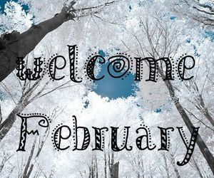february and new month image