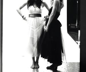 ashley olsen, black and white, and olsen twins image