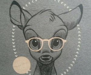 bambi, disney, and drawing image