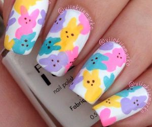 nails, easter nails, and easter image