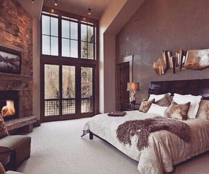 bedroom, decoration, and furniture image