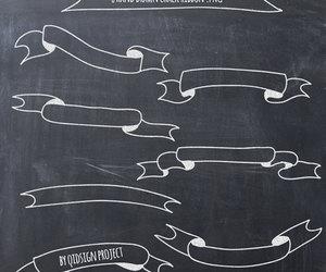 blog, chalkboard, and embellish image