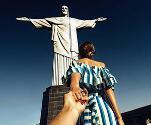 brazil, couple, and rio image