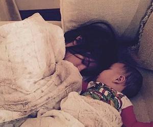 baby and selena gomez image