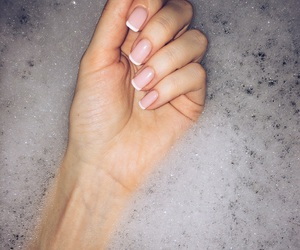 bath, beautiful, and nails image
