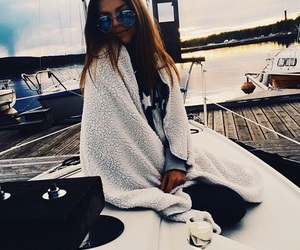 beautiful, boat, and fashion image