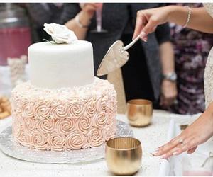 cake, taste, and wedding image