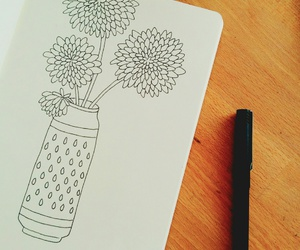 awesome, illustration, and fineliner image
