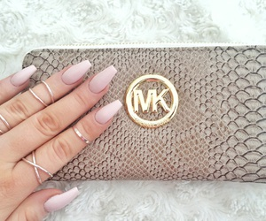 fancy, long nails, and pink image