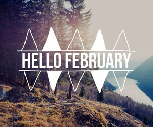 february, text, and today image