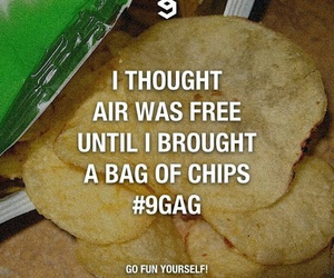 9gag, chips, and delicious image
