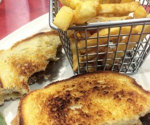 bread, food, and french toast image