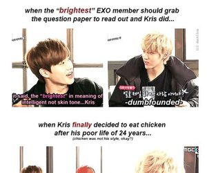 funny, kris, and exo image