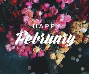 colorful, happy, and february image