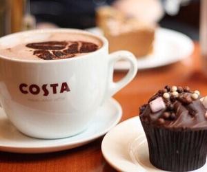 food, coffee, and chocolate image