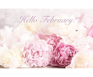 february, pastels, and new month image