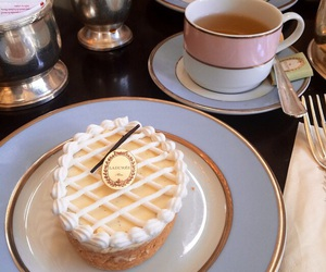 food, tea, and cake image
