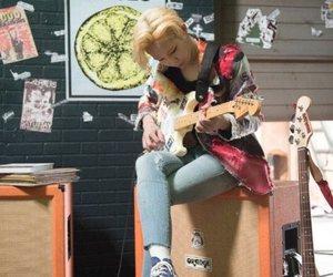 winner, taehyun, and guitar image
