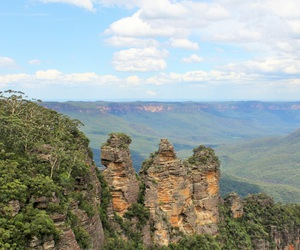 australia and blue mountains image