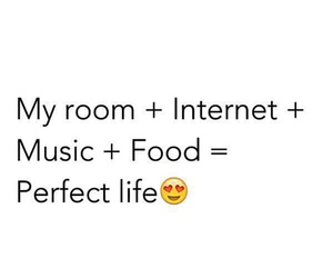 food, internet, and music image