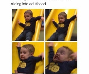 funny, adulthood, and meme image