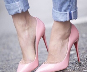 chic, heel, and style image