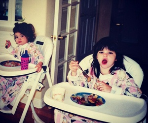 baby, kendall jenner, and kylie jenner image