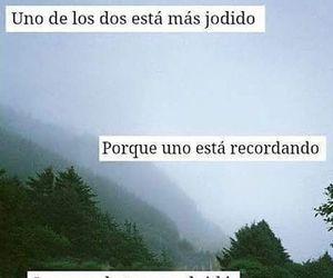 quotes, frases en español, and recuerdos image