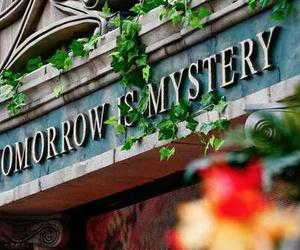 Tomorrowland, mystery, and tomorrow image