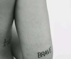 tattoo and brave image