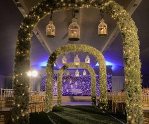 bride, romantic, and wedding image