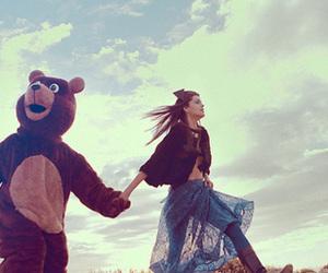 bear and sky image