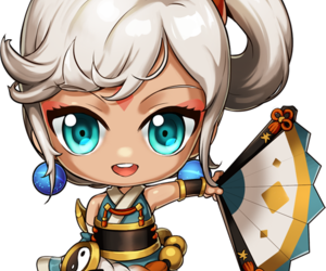 brasil, grand chase, and lin image