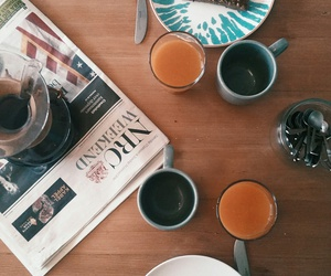 breakfast, chemex, and lunch image