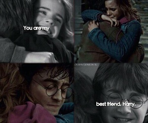 harry potter, best friends, and hermione granger image