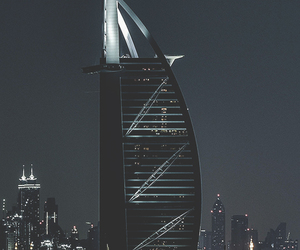 amazing, black, and Dubai image