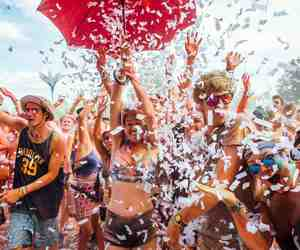 europe, summer, and music festivals image