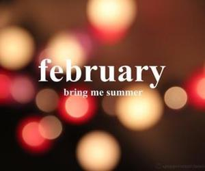 summer, february, and text image
